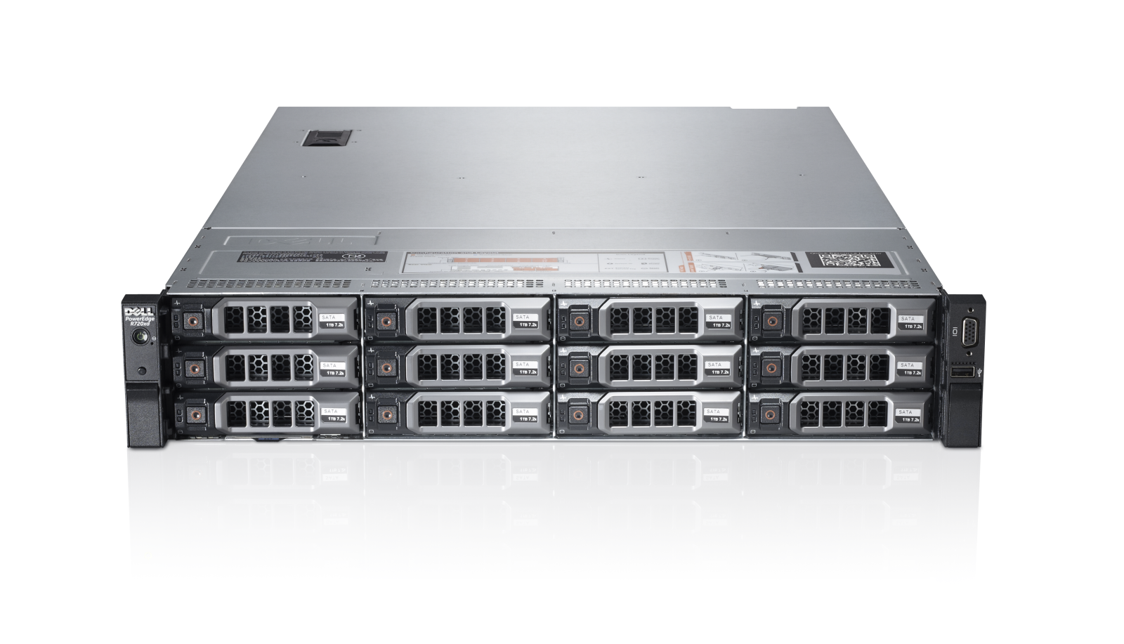 Servidor Dell PowerEdge R720x
